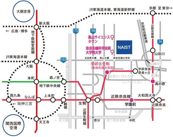公共交通機関図