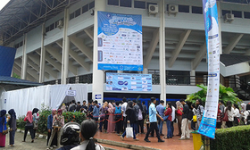IPB Career & Scholarship Expo entrance