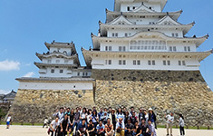 One-day Excursion to Himeji for International Students (May 14, 2017)