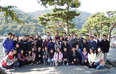 A one-day excursion to Kyoto for international students (October 30, 2016)