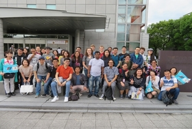 Group Photo at the National Museum of Modern Art, Kyoto